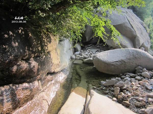 木札岭-溪流